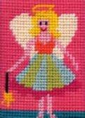 fairy needlepoint kit