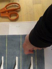 estimate needlepoint yarn quantity