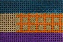 needlepoint framed scotch stitch