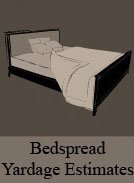 Bed Spread Yardage Estimates