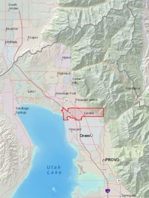 Lindon is located in the heart of Utah Valley.