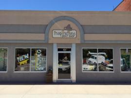 Inspirations Quilt Shop store front