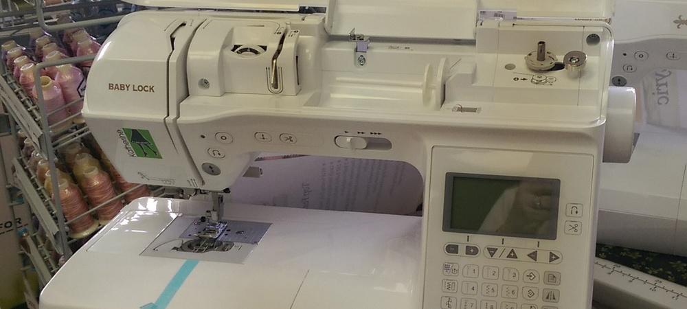 Baby Lock Gorgeous Katherine Sewing Machine