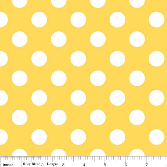 Gold polka dot sheets
