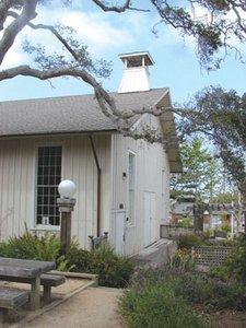 Exterior Chautauqua Hall, Pacific Grove