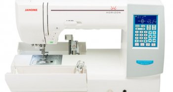 Janome 8200 QCP special edition accessory storage