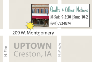 Quilts & Other Notions in Creston, Iowa