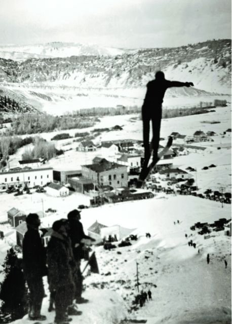 Big Ski Jump - Hot Sulphur Springs