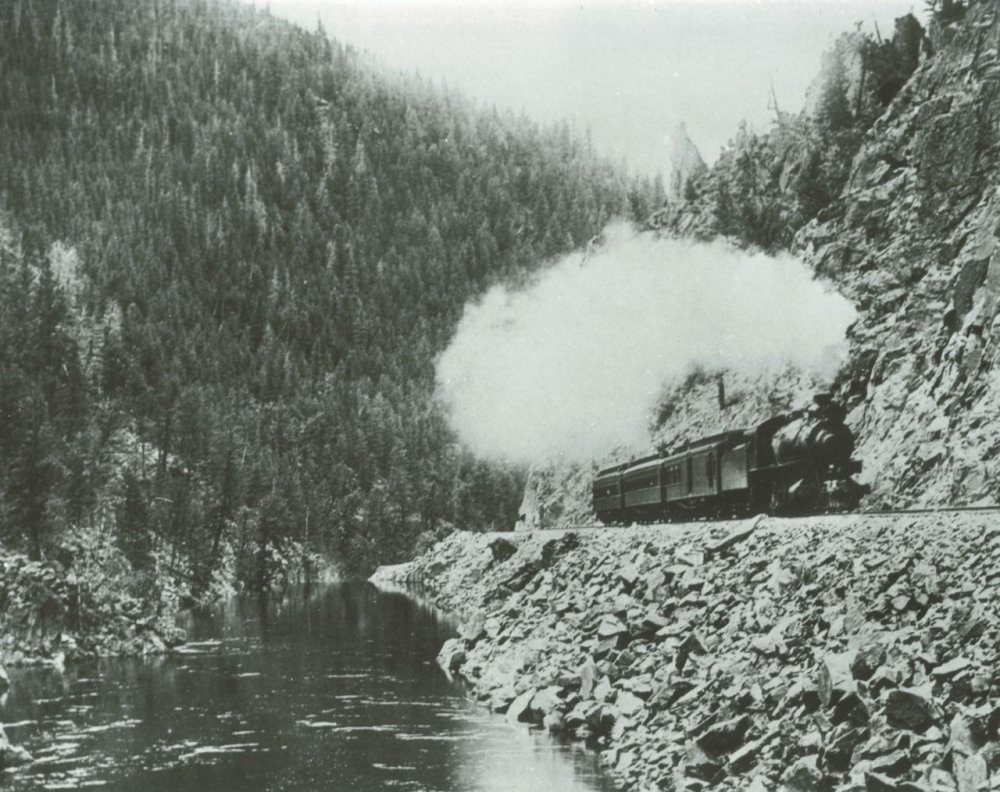 Yampa Valley Mail Train - Byers Canyon, Hot Sulphur Springs
