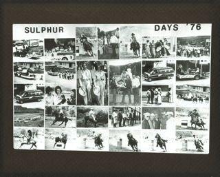 Sulphur Days 1976
