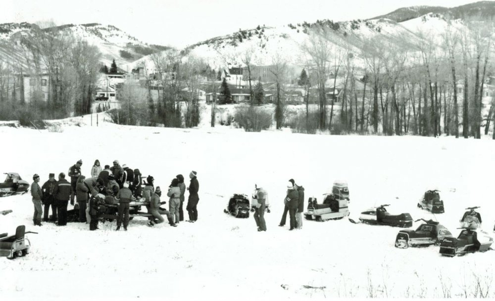 Snowmobiling in Hot Sulphur Springs
