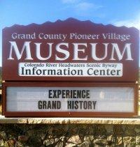 Hot Sulphur Springs, Colorado GCHA Pioneer Village Museum - photograph by Ward Briggs