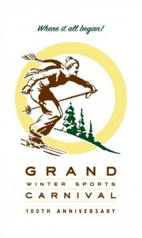Grand Winter Sports Carnival Centennial Poster - 2011-12