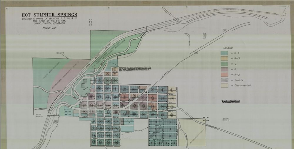 Hot Sulphur Springs Colorado Map.Town Of Hot Sulphur Springs Planning And Zoning Hss