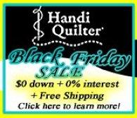 Handi Quilter Sale