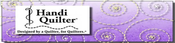 Handi Quilter topper