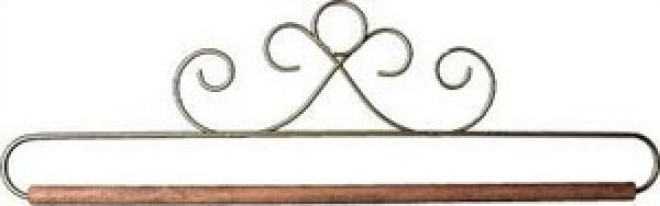 Hanger - 12 inch - Gold French Curl