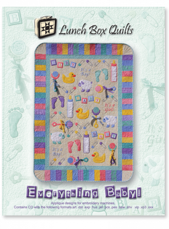 Everything Baby!-Machine Embroidery