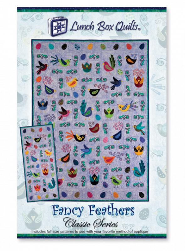 Classic Fancy Feathers-Applique