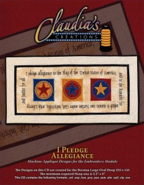 I Pledge Allegiance by Claudia's Creations