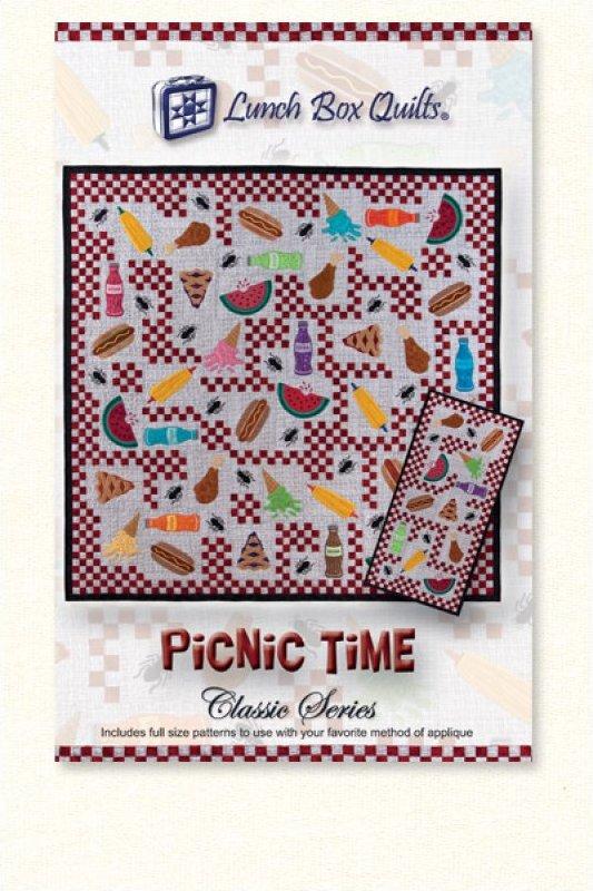 Classic Picnic Time-Applique