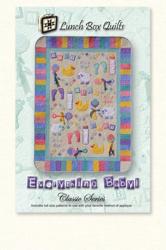 Classic Everything Baby!-Applique