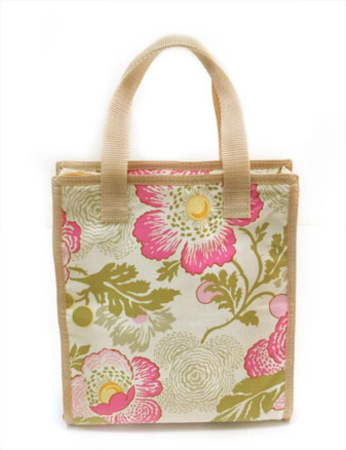 Accessory Tote - Pink Floral