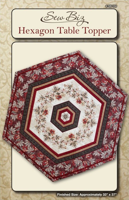 SB 104 Hexagon Table Topper