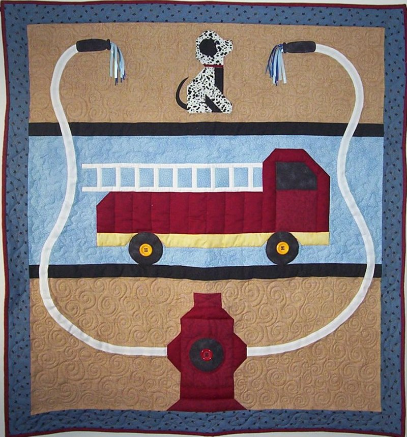 To the Rescue Baby Quilt Pattern