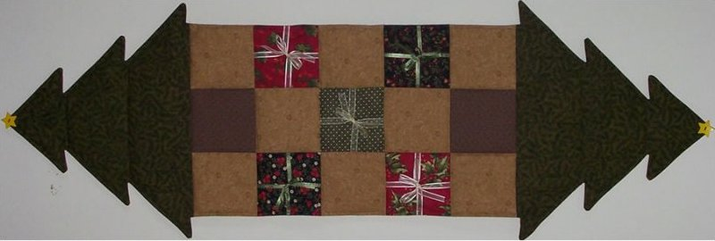 Oh Christmas Tree Table Runner Pattern