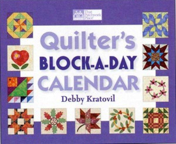 Quilter's Block-A-Day Calendar