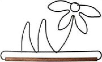Daffodil Quilt Hanger 6