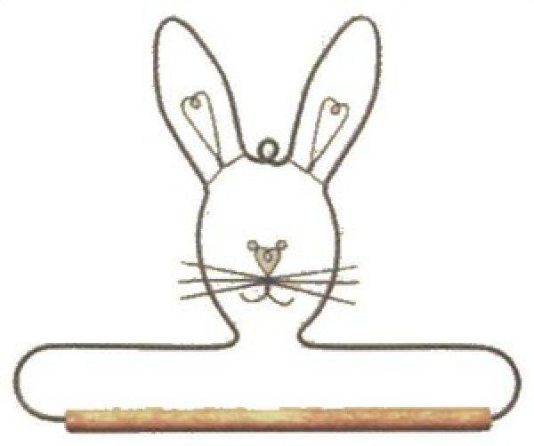 Bunny Quilt Hanger 6