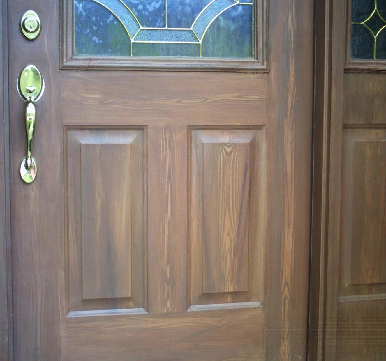 painting a metal door Metal Door Matches Exterior painting a metal door
