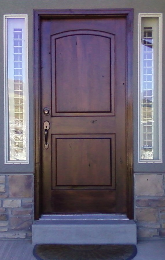 Interior Door Refinishing