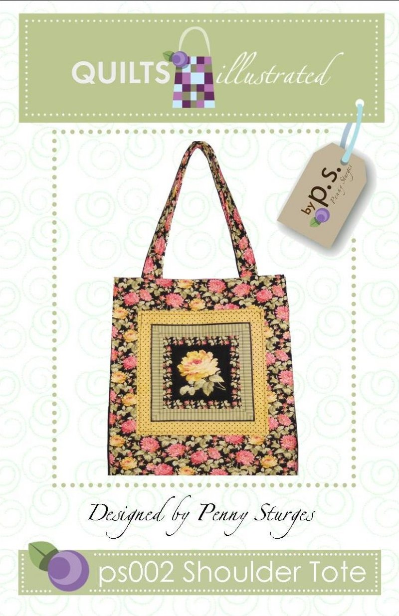 ps002 Shoulder Tote Pattern