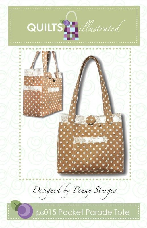 ps015 Pocket Parade Tote Pattern