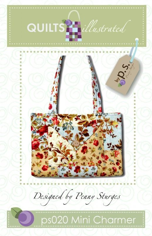 ps020 Mini Charmer Tote Pattern