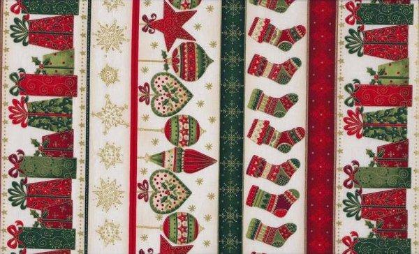 Joyful Christmas Border Print