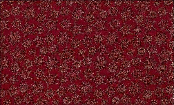 Joyful Christmas Stars Red