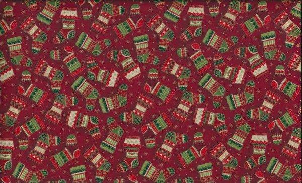 Joyful Christmas Stocking Red