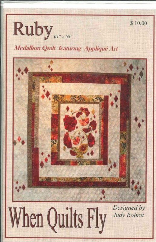 Ruby-When Quilts Fly-RUBY