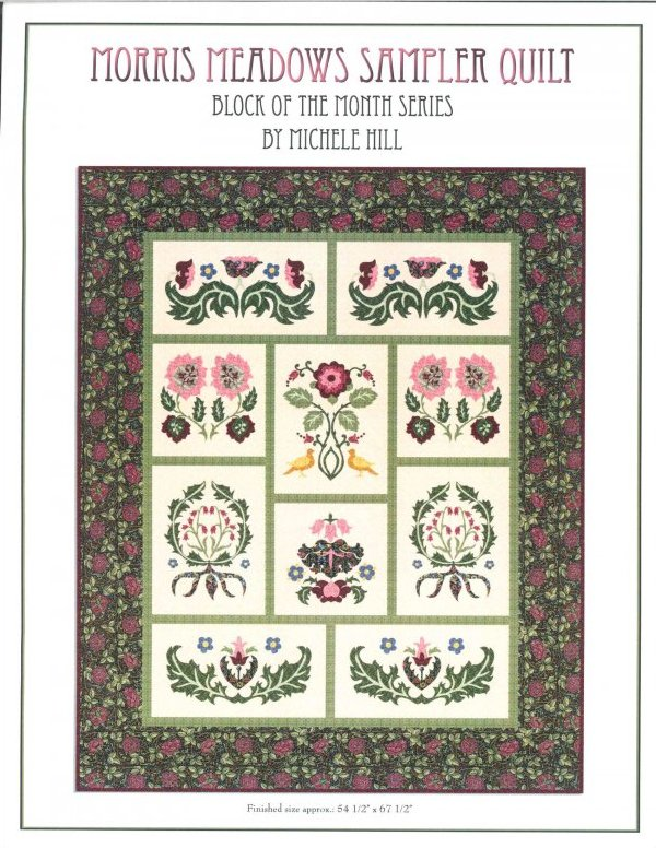 Morris Meadows Sampler Quilt Kit