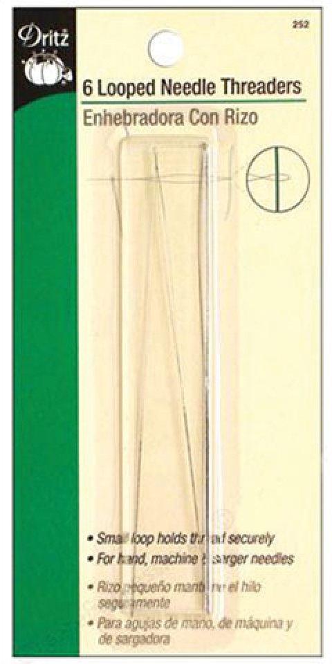 Dritz Looped Needle Threaders 6 per package