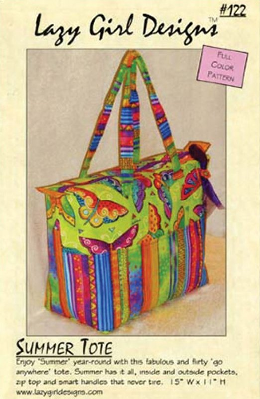 Summer Tote by Lazy Girl Designs #122