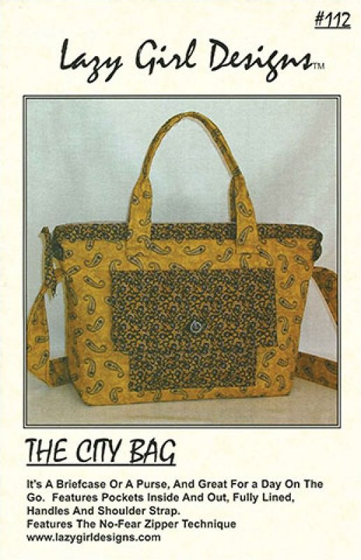 City Bag by Lazy Girl Designs #112