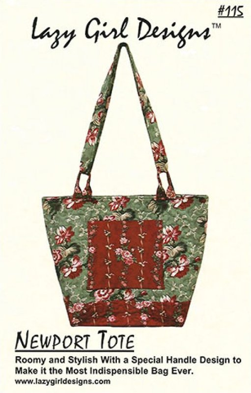 Newport Tote by Lazy Girl Designs #115