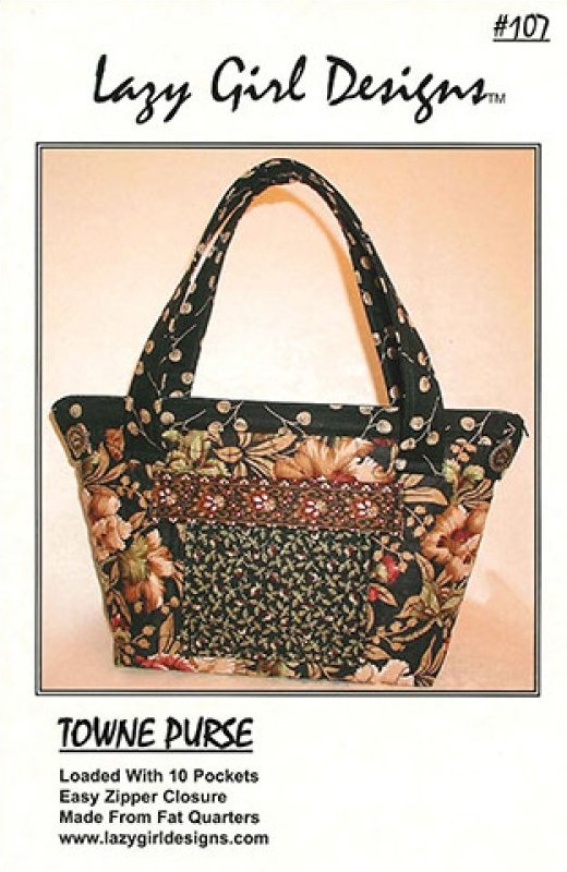 Towne Purse by Lazy Girl Designs #107