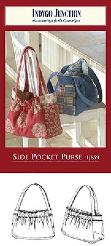 Side Pocket Purse by Indygo Junction Designs IJ859