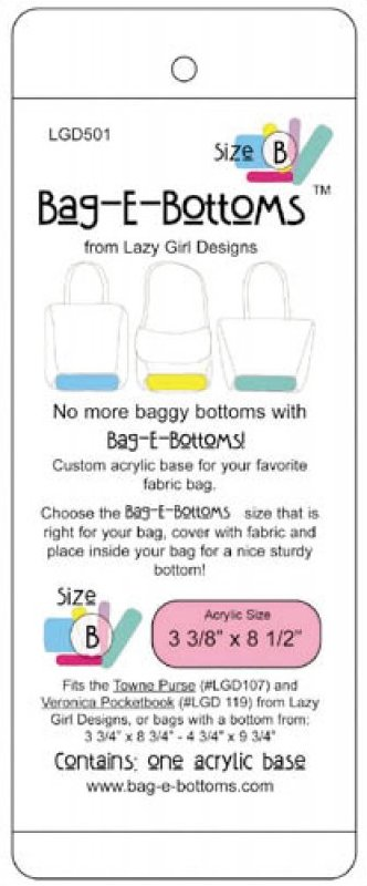 Bag-E-Bottoms Size B (these are it, supplier has dropped)